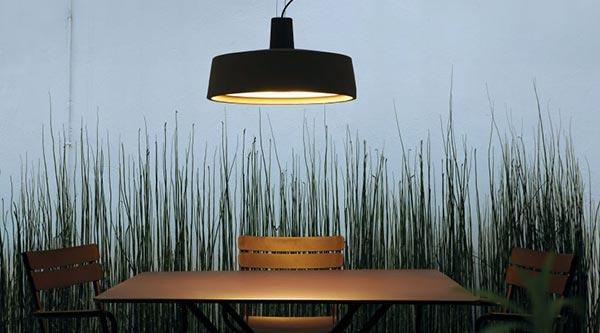 Iluminaci n azul acocsa - Iluminacion decorativa exterior ...