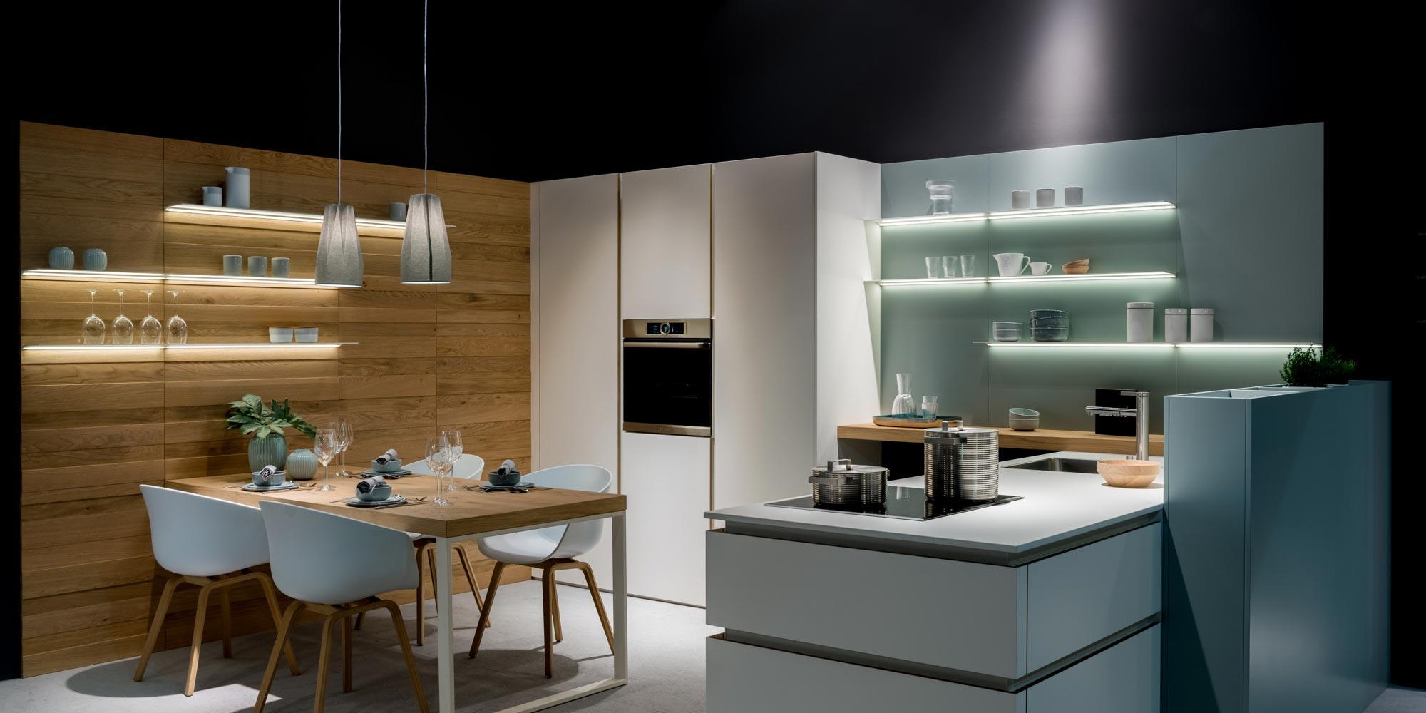 Cocinas Leicht | Leicht Azul Acocsa