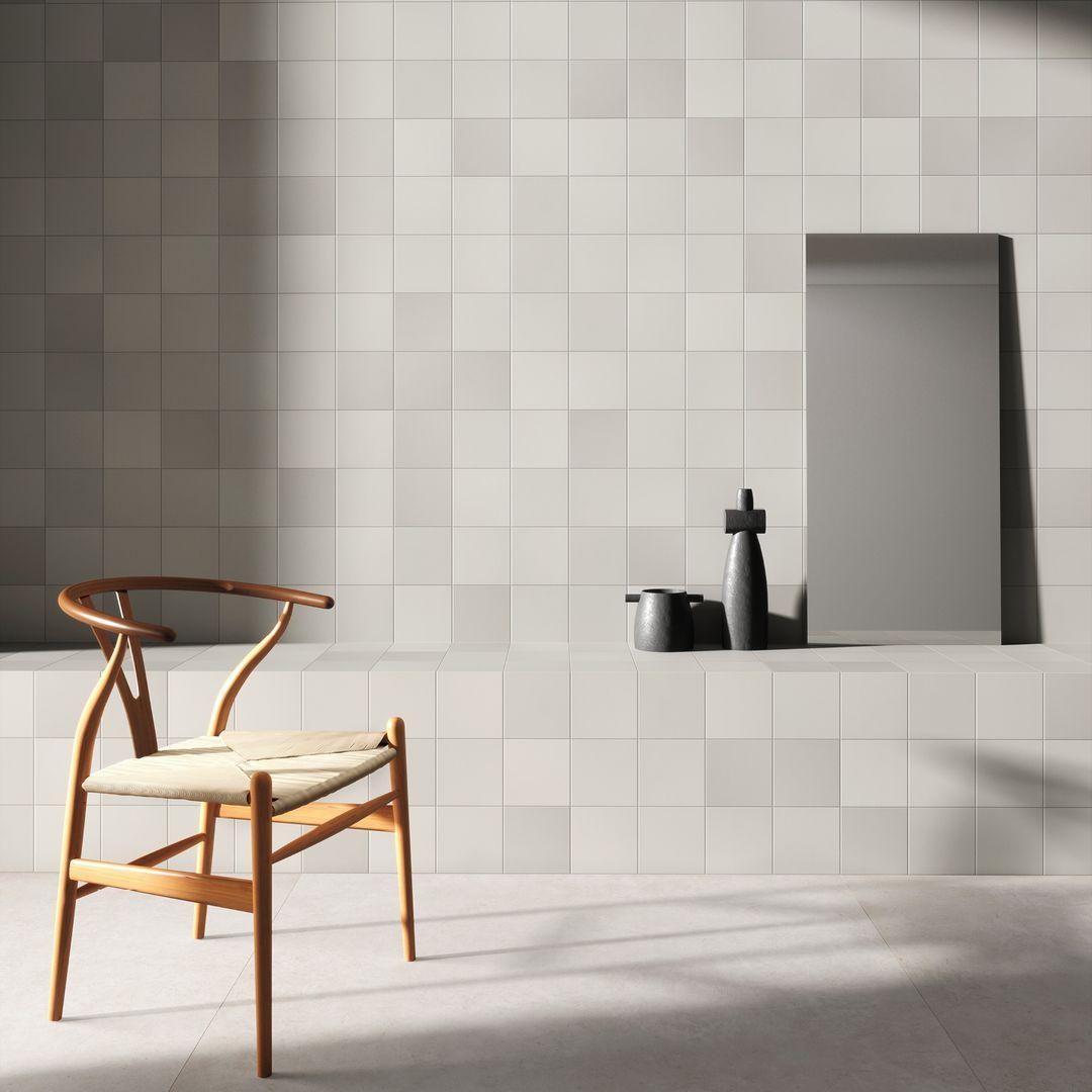 Una cerámica minimalista para crear texturas